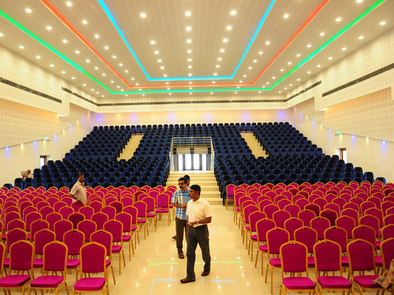 Complete View of TCC HALL